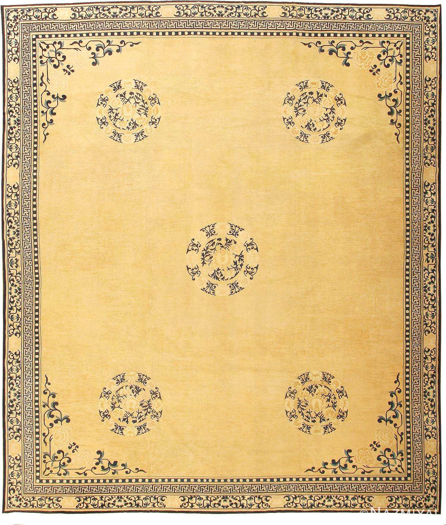 Antique Chinese Oriental Rug 2139 Nazmiyal