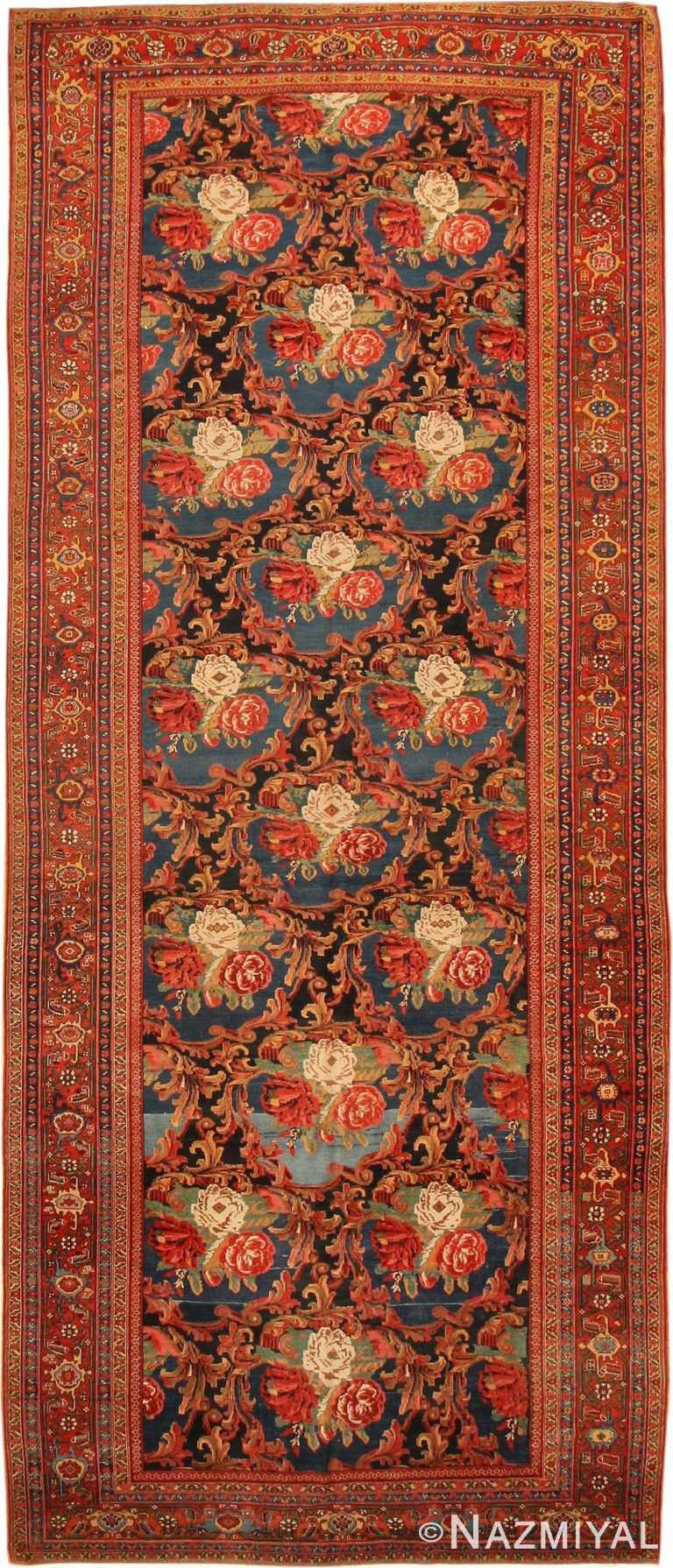 Antique Farahan Persian Rug 43419 Nazmiyal
