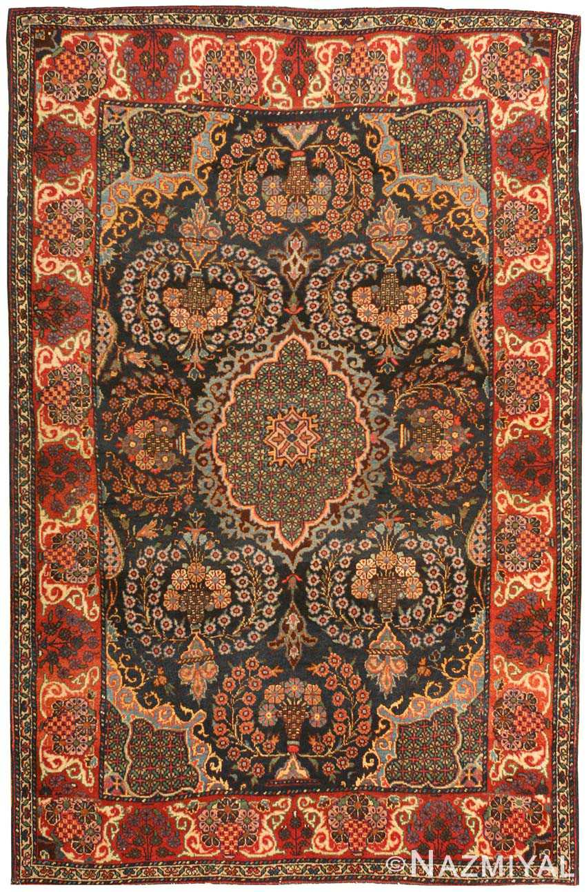 Antique Sarouk Persian Rug 43301