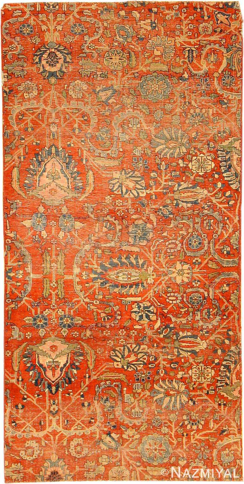 Antique Kashan Persian Rug 2851 Nazmiyal