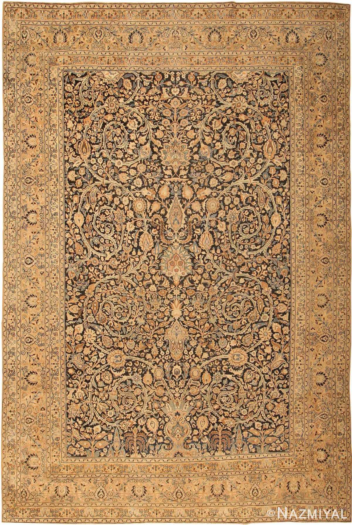 Antique Khorassan Persian Carpet 41814 Nazmiyal