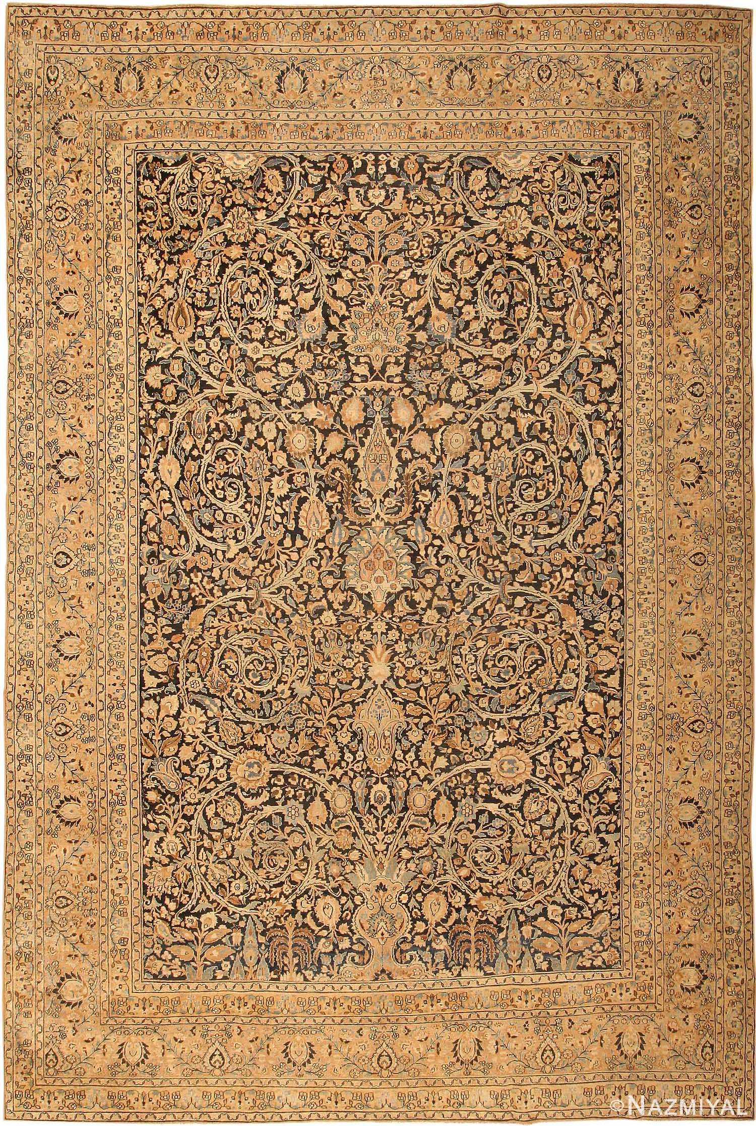 Decorative Large Antique Khorassan Persian Carpet 41814