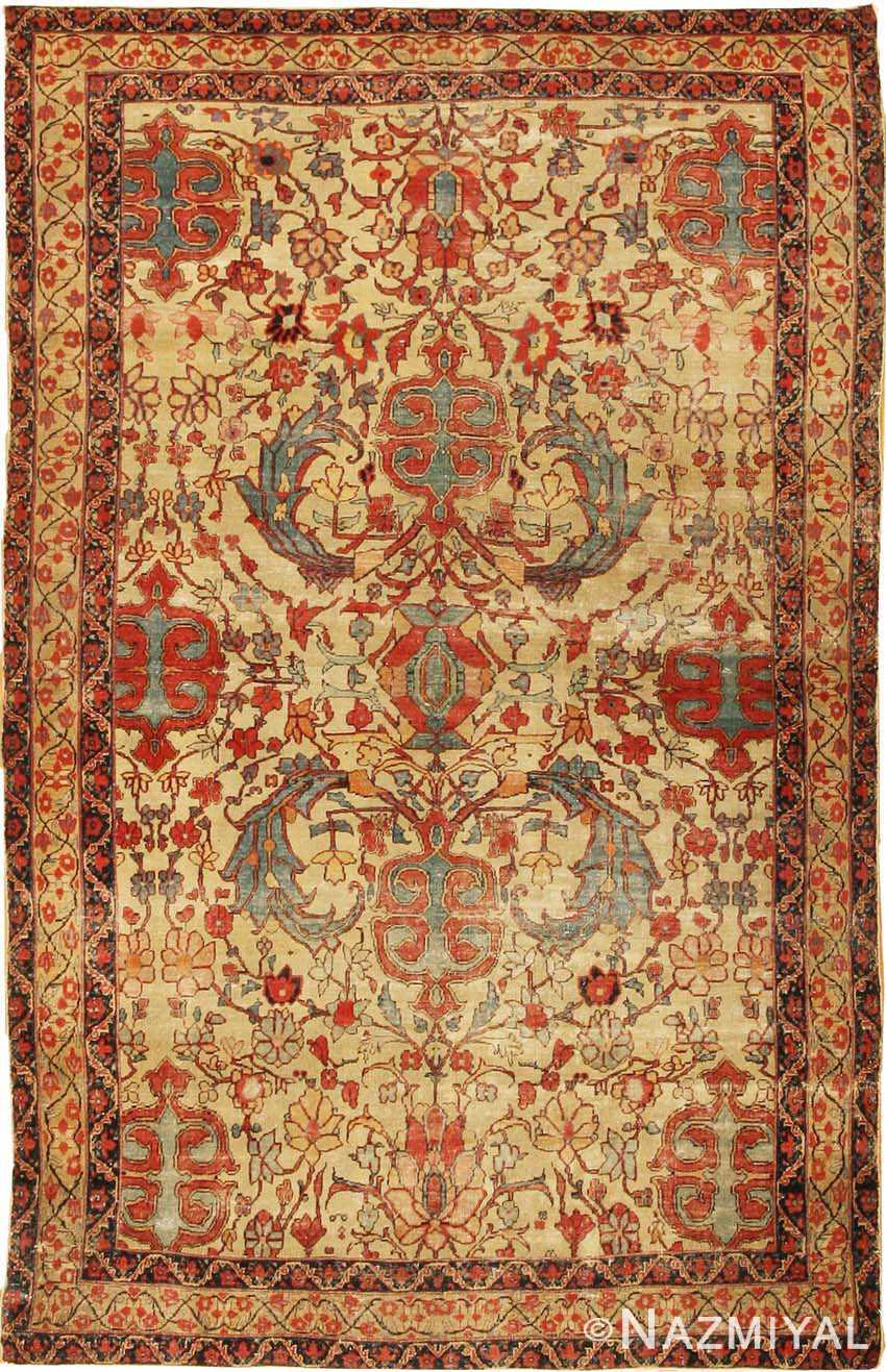 Antique Persian Kerman Rug 2357 By