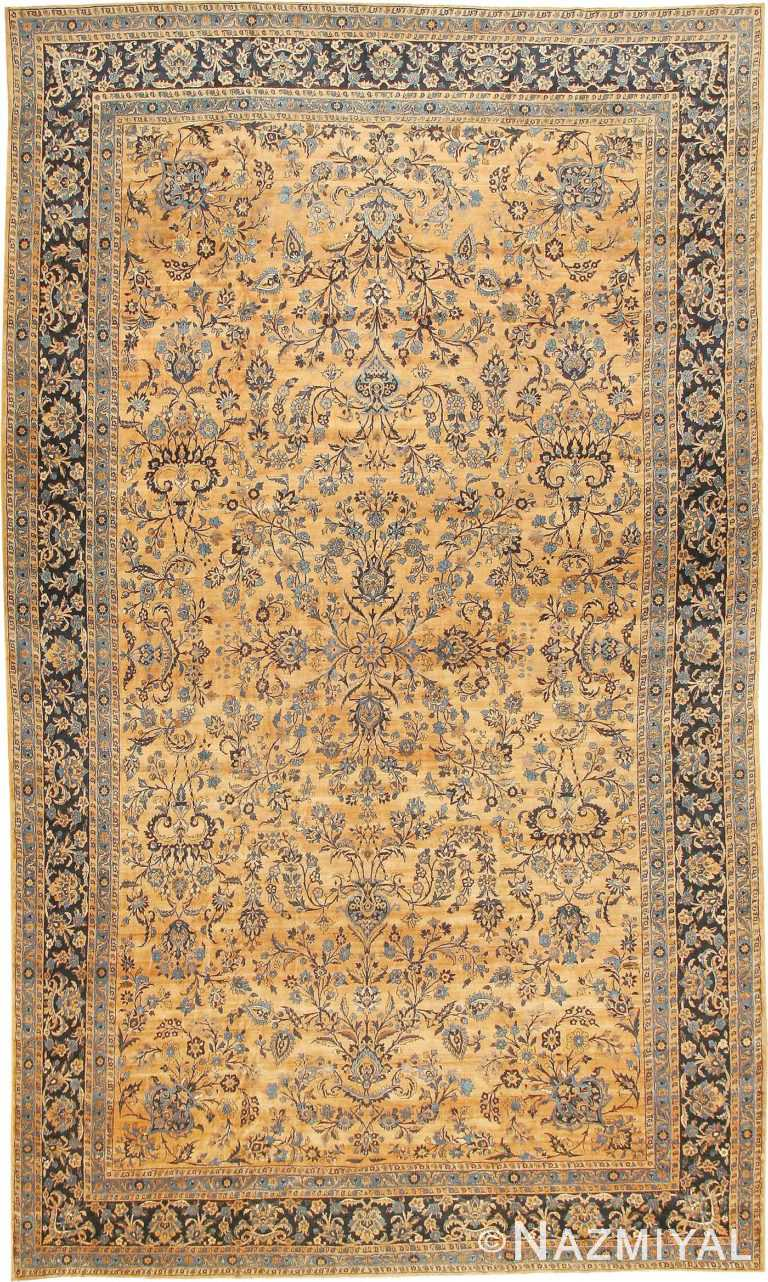 Antique Kerman Persian Rug 42101 Nazmiyal