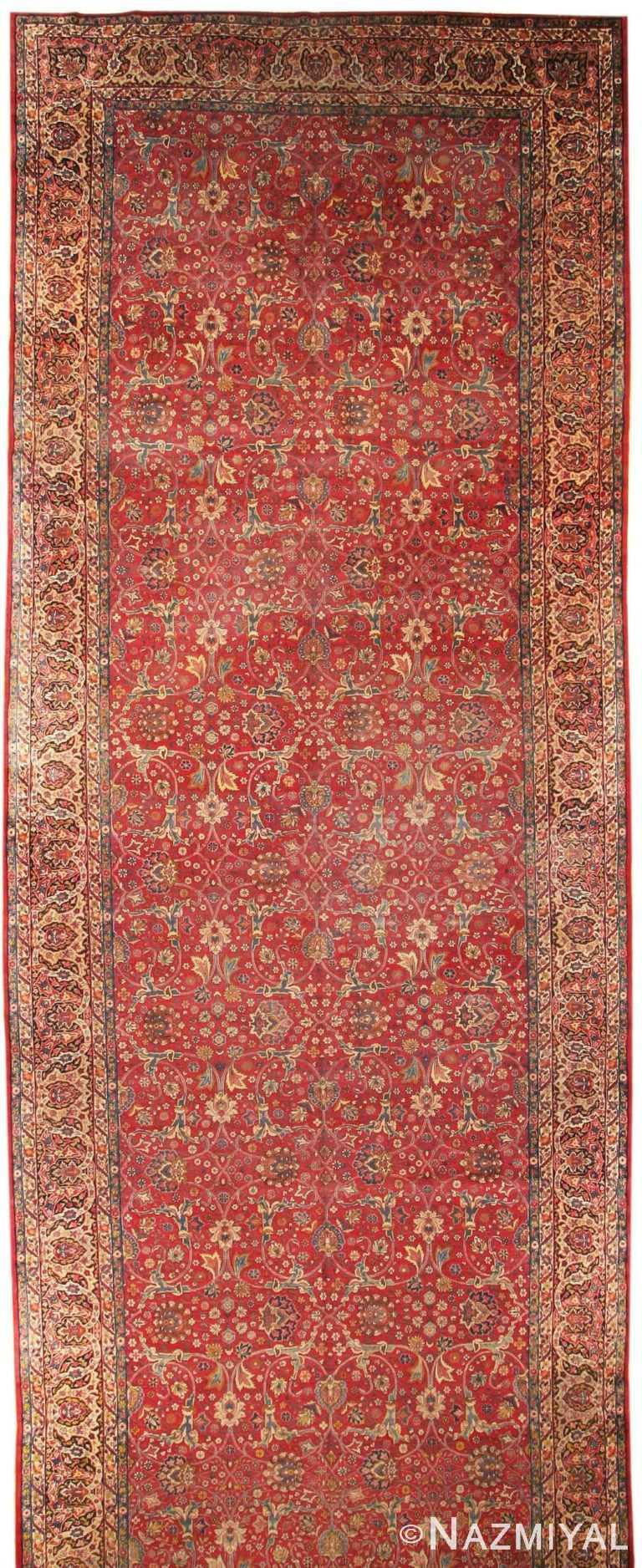 Antique Kerman Persian Rug 43429 Nazmiyal