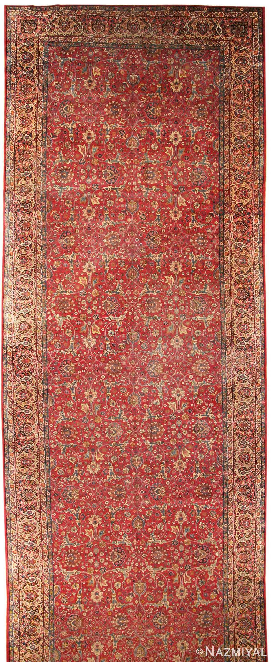 Antique Kerman Persian Rug 43429 Nazmiyal