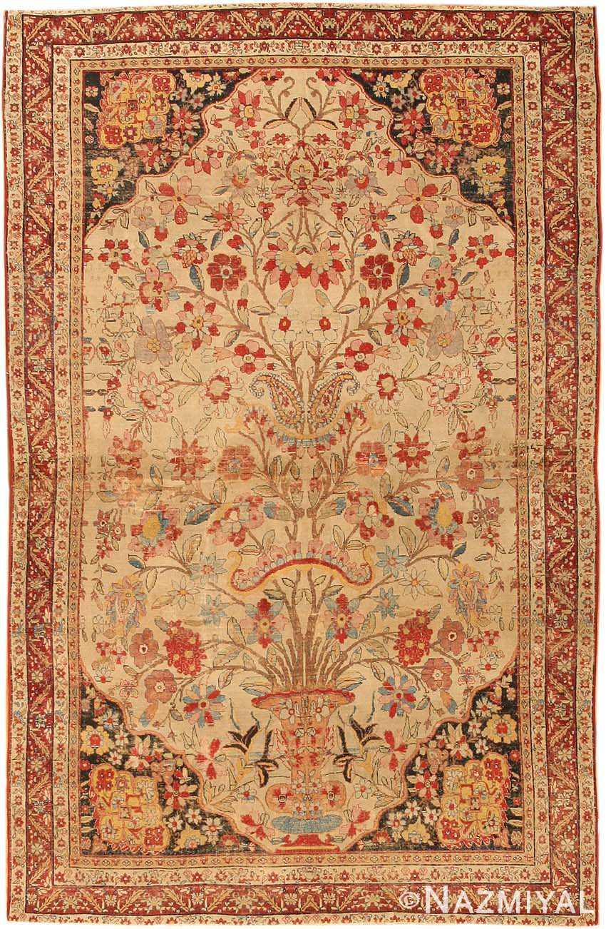 Antique Kerman Persian Rug 2796 Nazmiyal