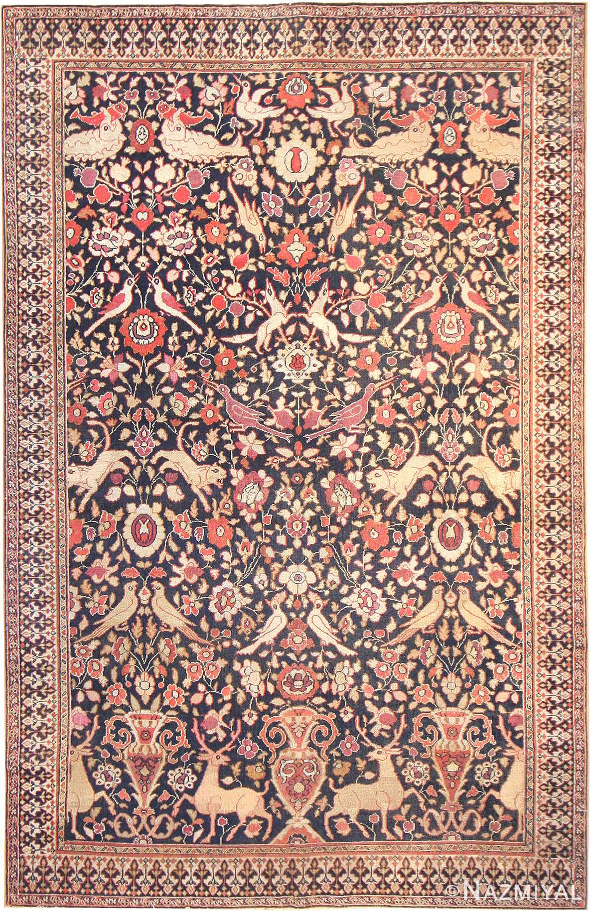 Antique Khorassan Persian Rug 3244 Nazmiyal