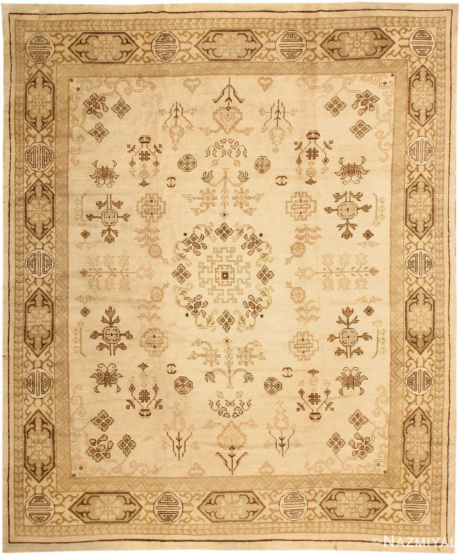 Antique Khotan Oriental Carpet 41292 Nazmiyal