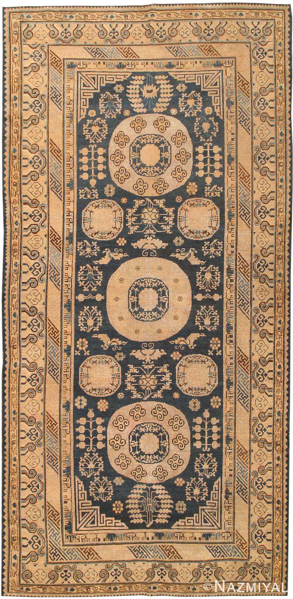 Antique Khotan Oriental Rug 43179 Nazmiyal