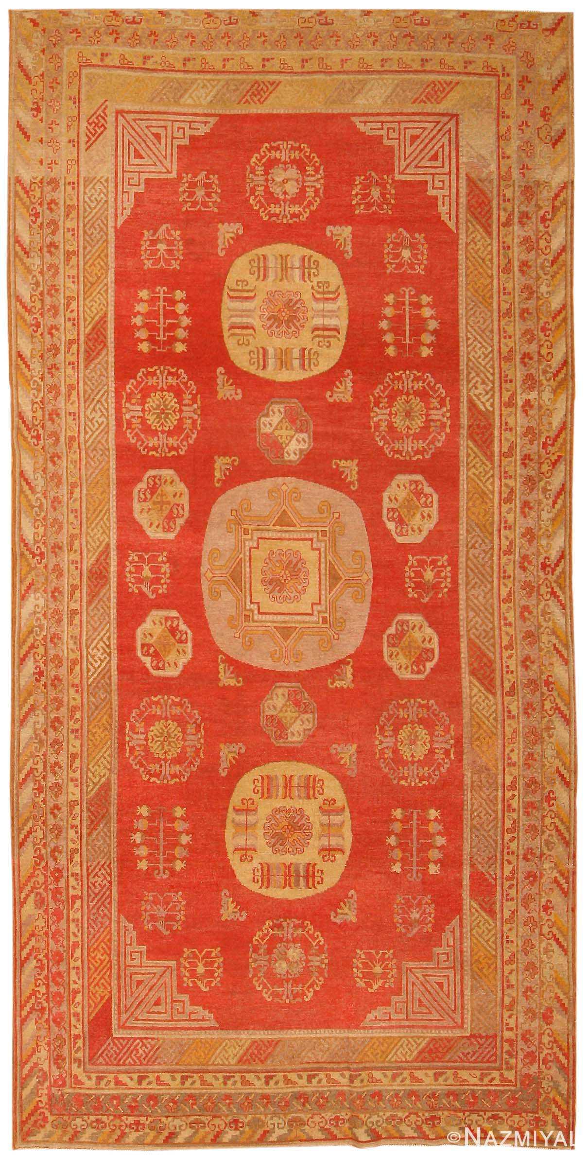 Antique Khotan Oriental Rug 42572 Nazmiyal
