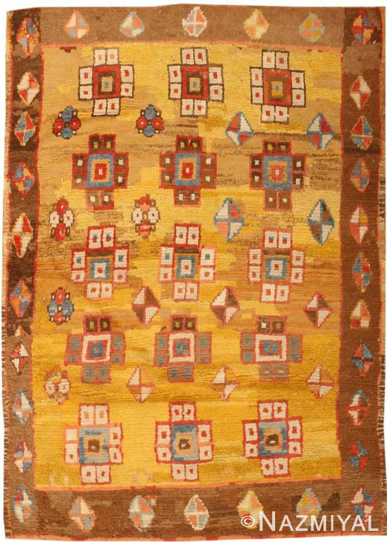 Antique Konya Turkish Rug 3093 Nazmiyal