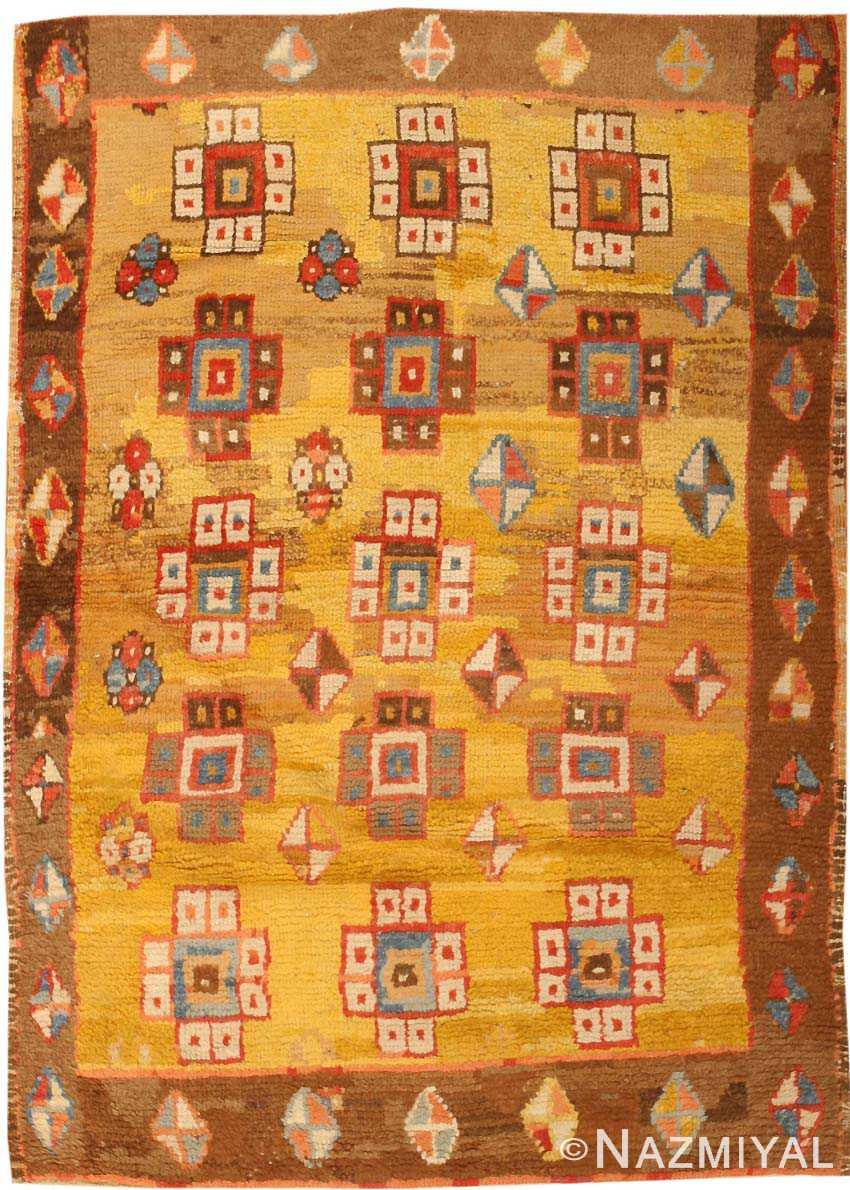 Antique Konya Turkish Rug 3093 Nazmiyal