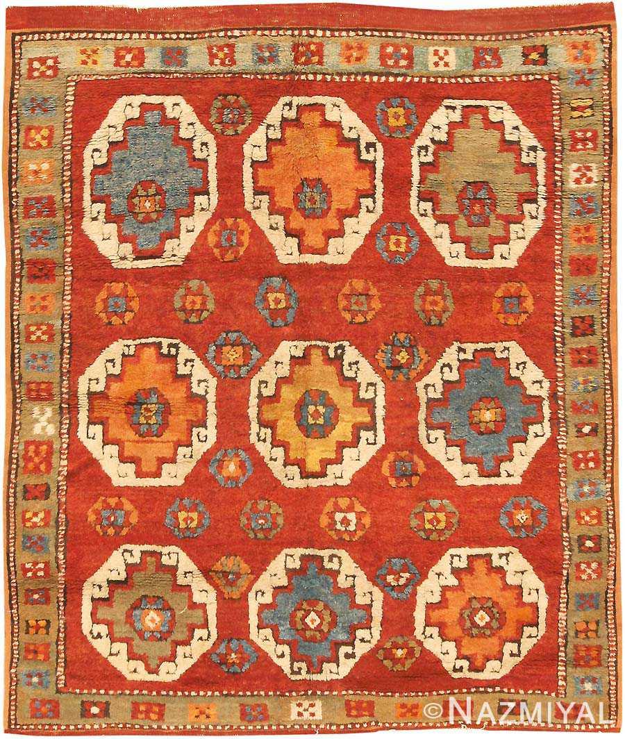 Antique Konya Turkish Rug 3091 Nazmiyal