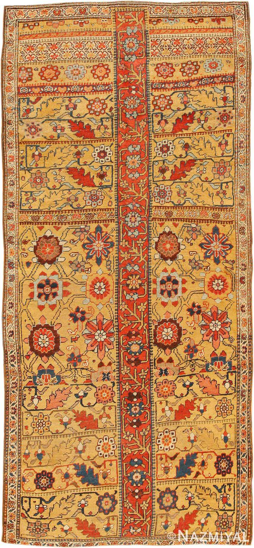 Antique Kurdish Bidjar Persian Sampler Rug 40485 Nazmiyal