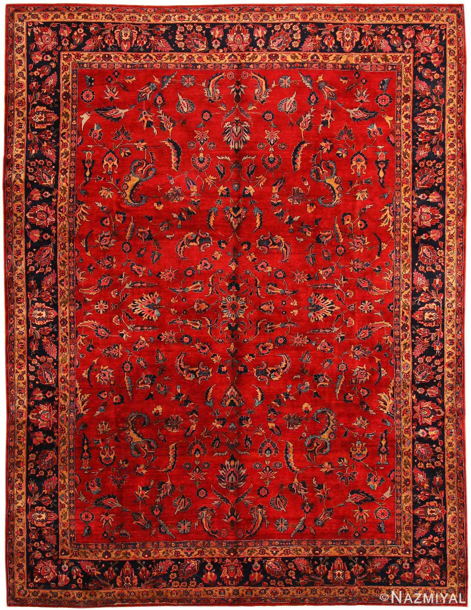 - Antique Sarouk Persian Rug 43524 By Nazmiyal
