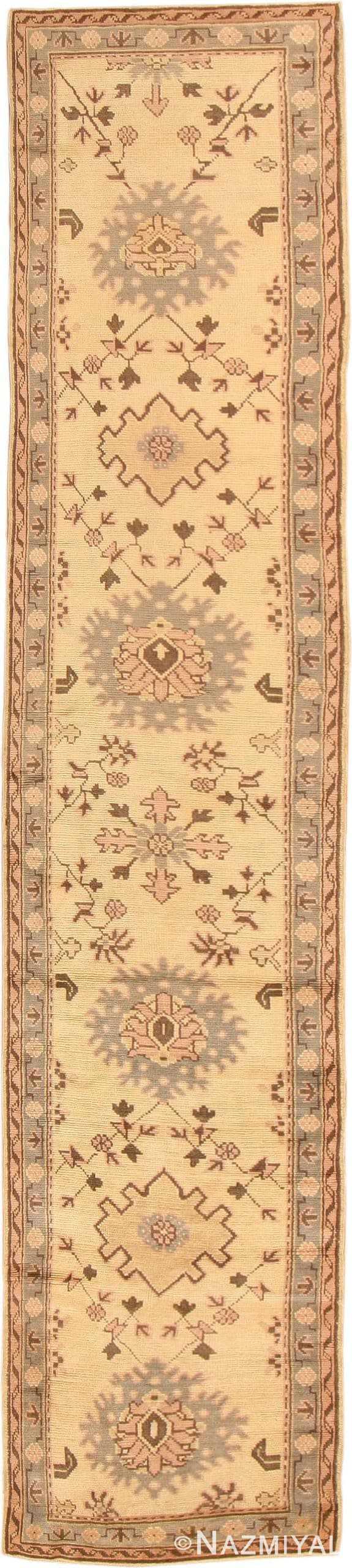 Antique Oushak Turkish Rug 41776 Nazmiyal