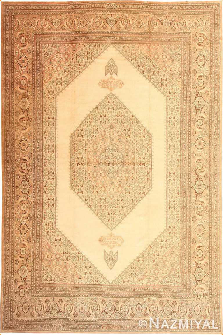 Antique Tabriz Persian Rug 2904 Nazmiyal