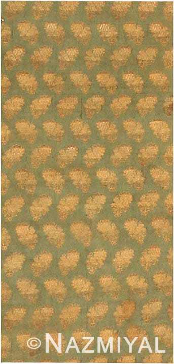 Antique Ottoman Embroidery Turkish Rug 40548 Nazmiyal