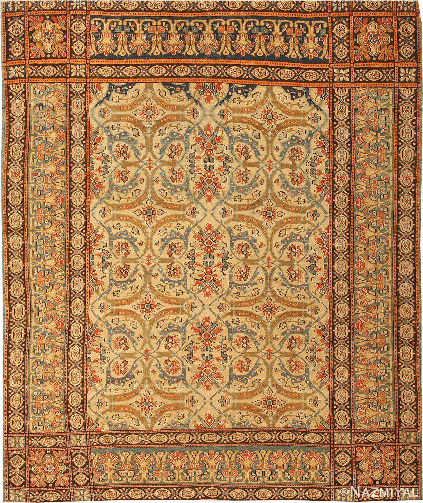 Vintage Persian Rugs: Antique Senneh Persian Rugs 41357