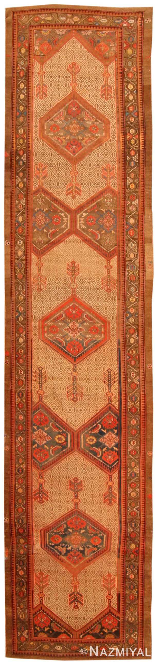 Antique Serab Persian Rug 43882 Nazmiyal