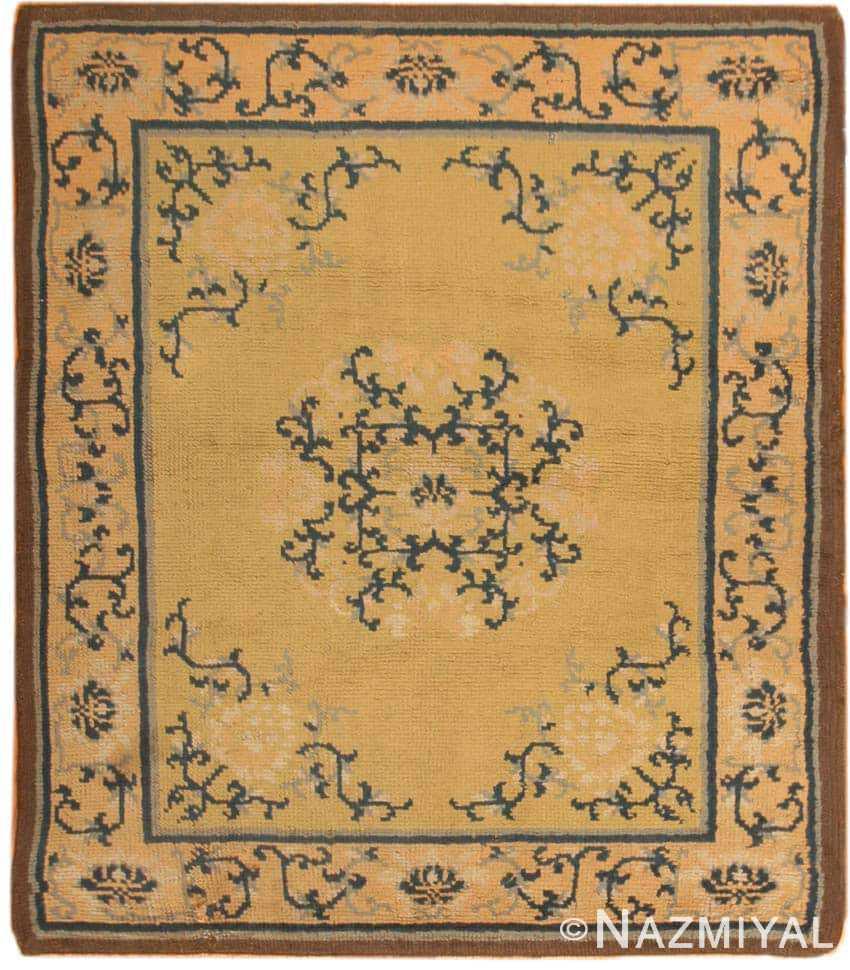 Antique Spanish Carpet 1151 Nazmiyal
