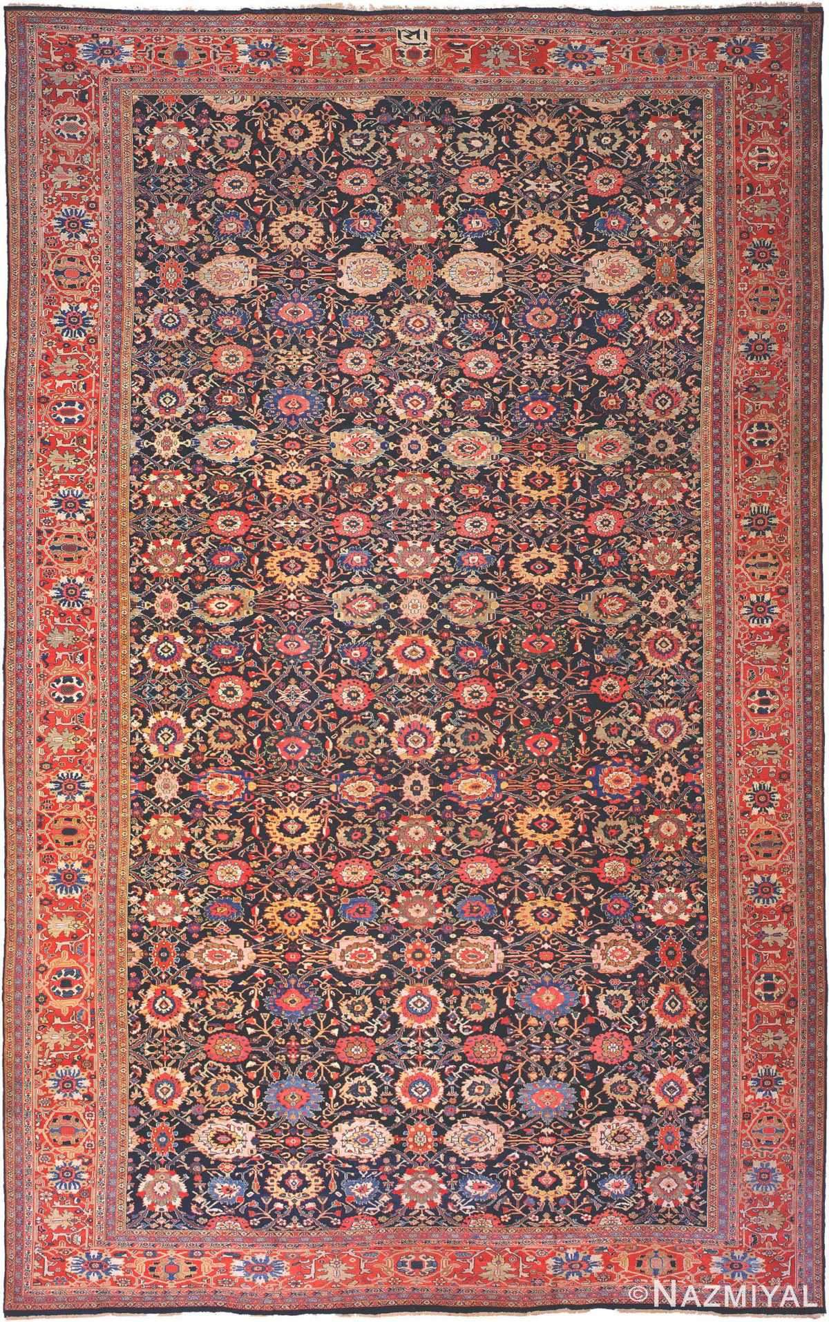 Antique Sultanabad Persian Carpet 3019 Nazmiyal