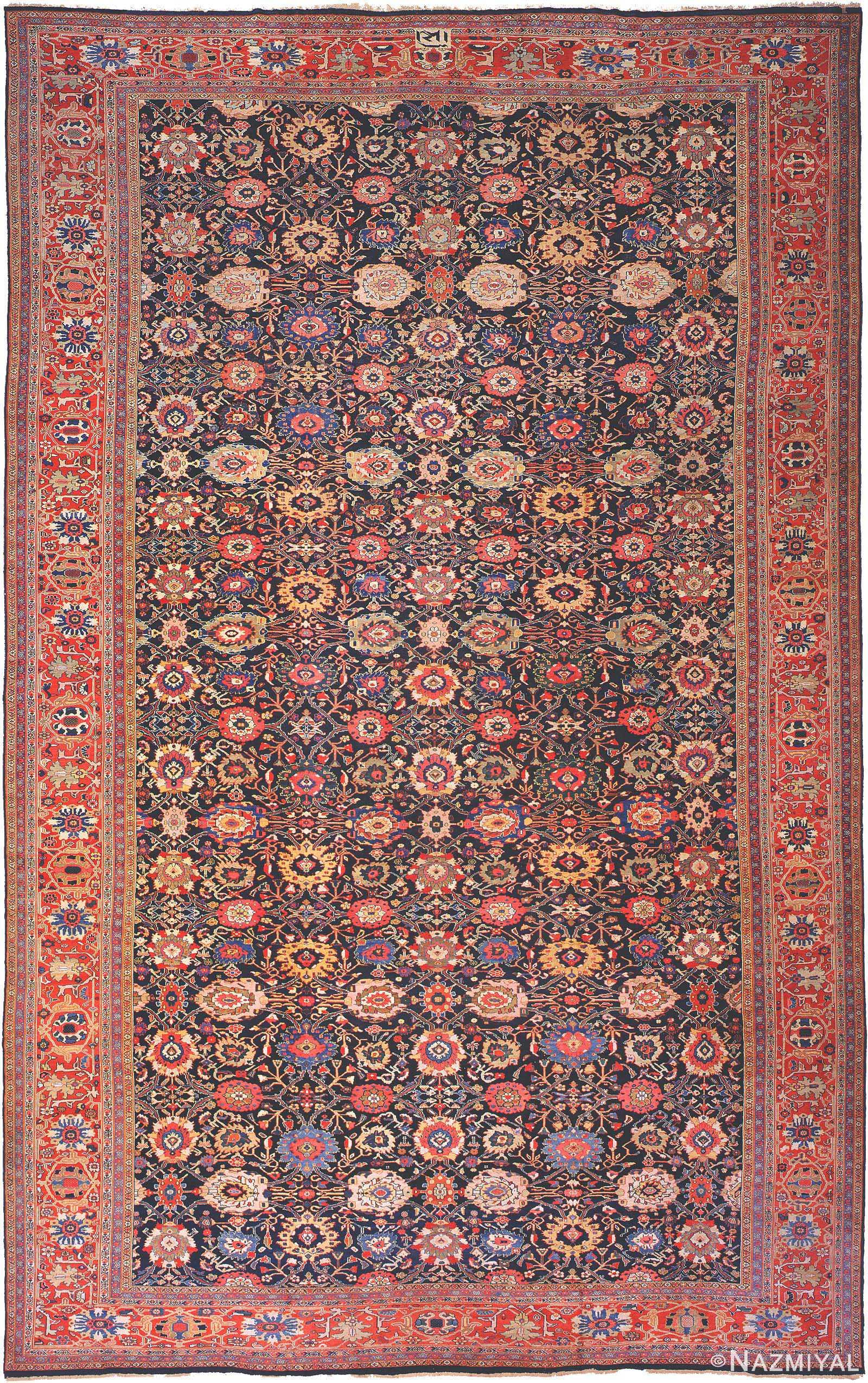 Antique Persian Ziegler Sultanabad Carpet 3019