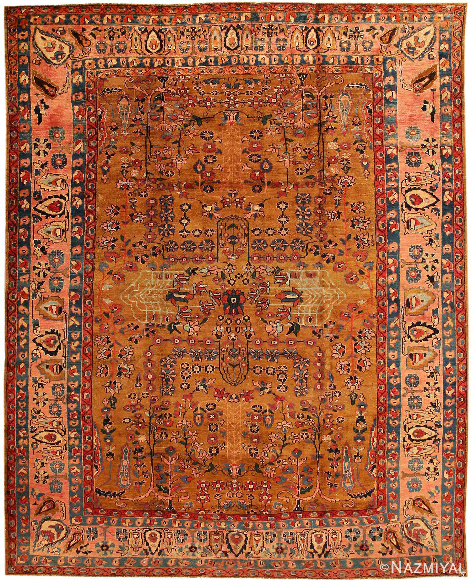 Vintage Persian Rugs: Antique Sultanabad Carpet