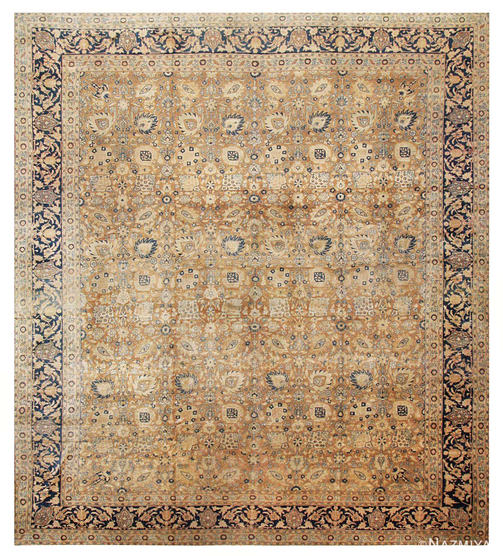 Modern Persian Tabriz Design Rug 44687 Nazmiyal Antique Rugs: Antique Persian Tabriz Rug 43396 By Nazmiyal