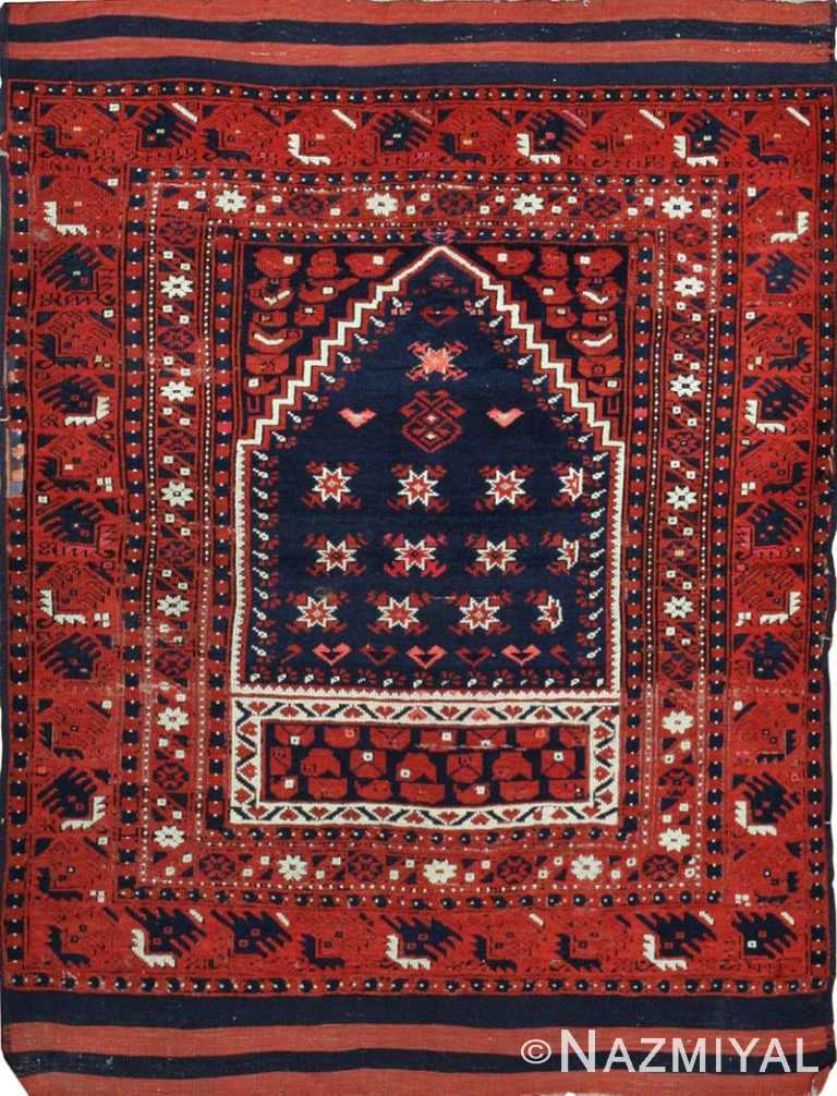 Antique Turkish Rug 43932 Nazmiyal