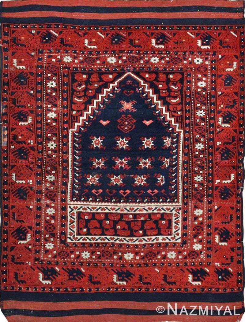 Antique Turkish Rug 43932 Nazmiyal
