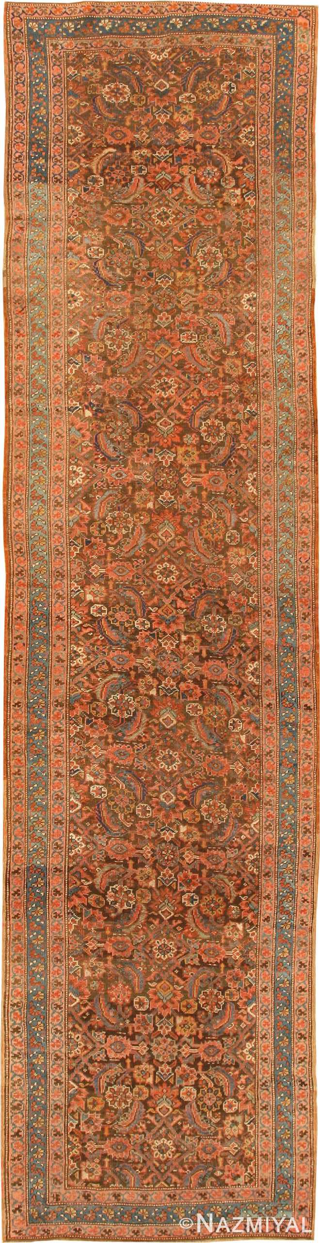 Antique Bakshaish Persian Runner Rug 42365 by Nazmiyal