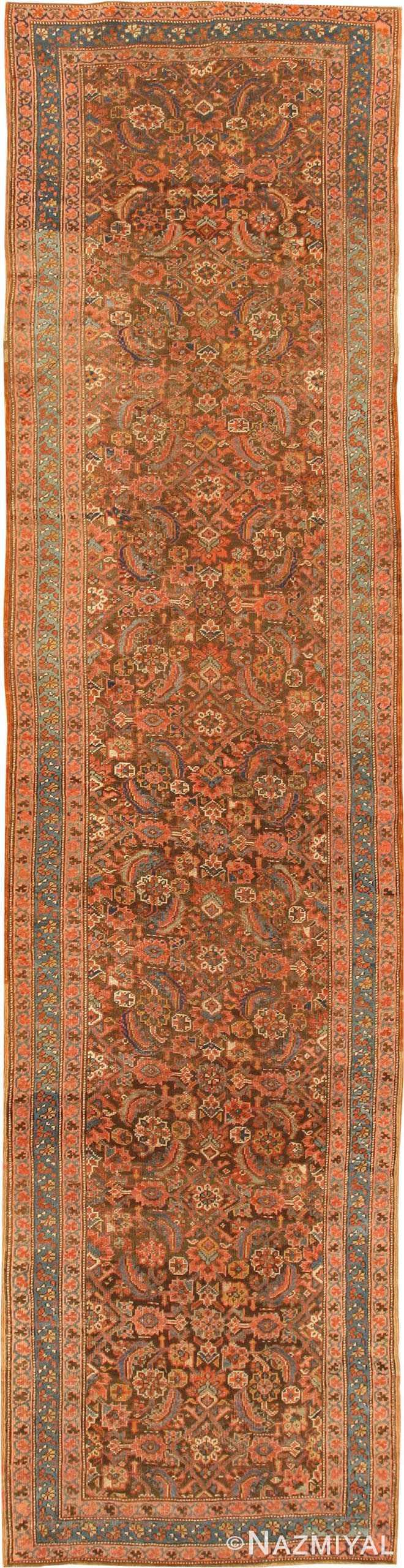 Antique Bakshaish Persian Runner Rug 42365 by Nazmiyal