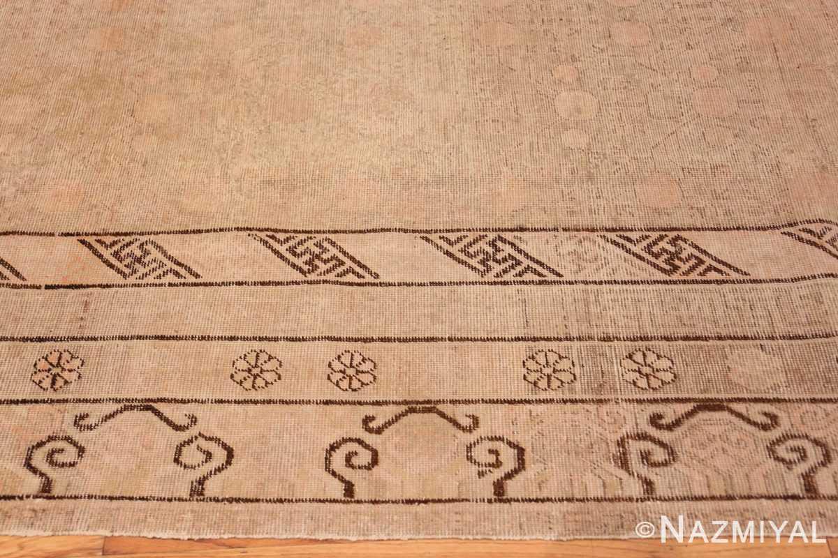 Border Decorative Antique Khotan rug 44995 by Nazmiyal