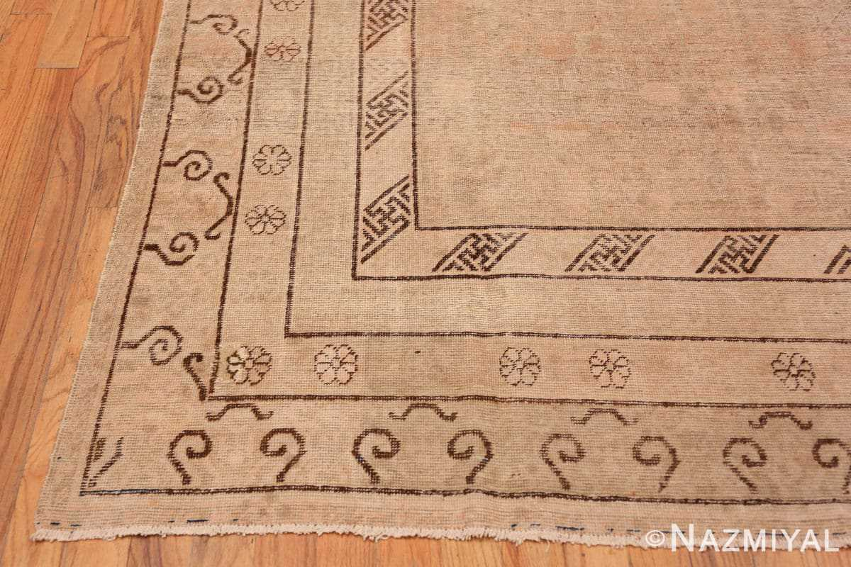 Corner Decorative Antique Khotan rug 44995 by Nazmiyal