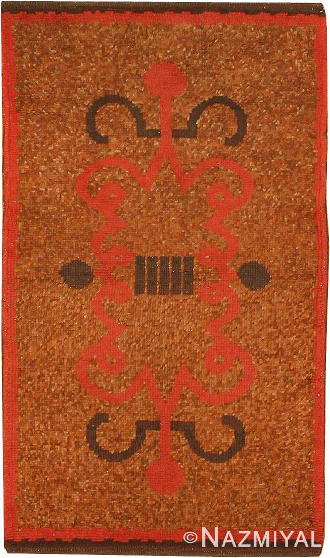 Vintage Small French Art Deco Rug 42693 by Nazmiyal