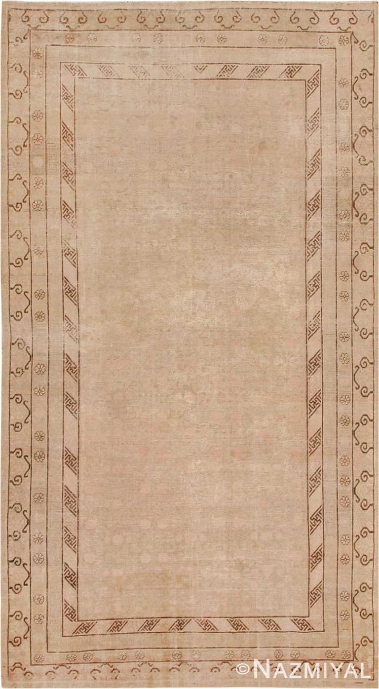 Decorative Antique Khotan Rug #44995 by Nazmiyal Antique Rugs