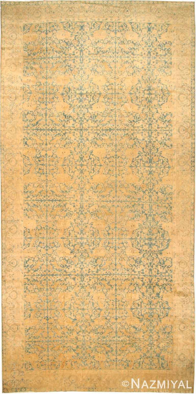 Antique Indian Oriental Rug 42095 Nazmiyal