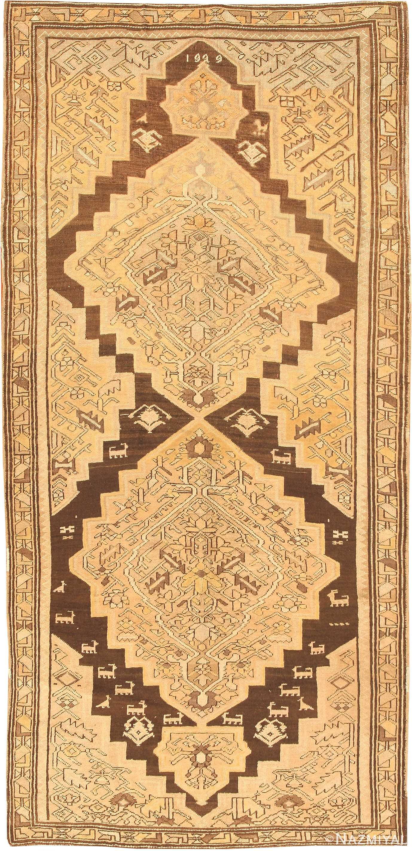 Antique Karabagh Rug 41996 Nazmiyal