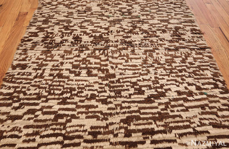 mid century moroccan rug 45010 field Nazmiyal