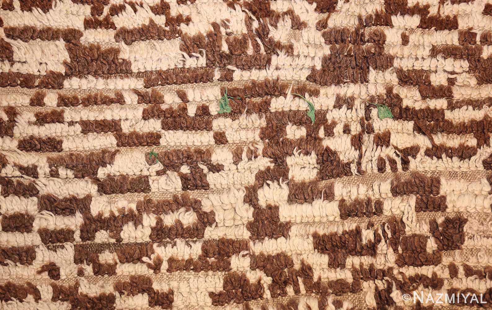 mid century moroccan rug 45010 green Nazmiyal