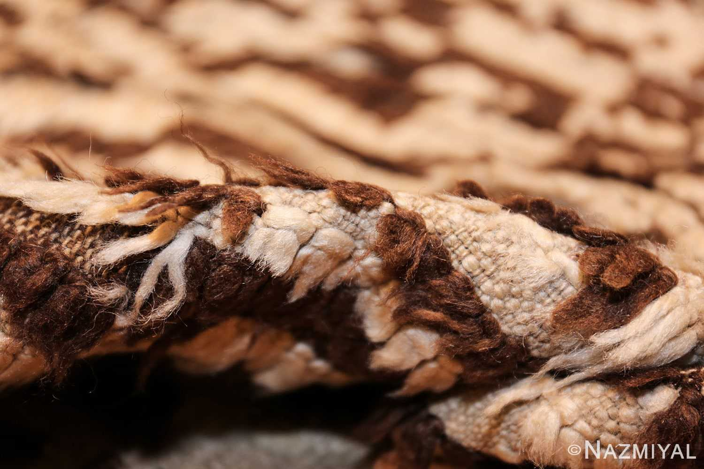 mid century moroccan rug 45010 pile Nazmiyal