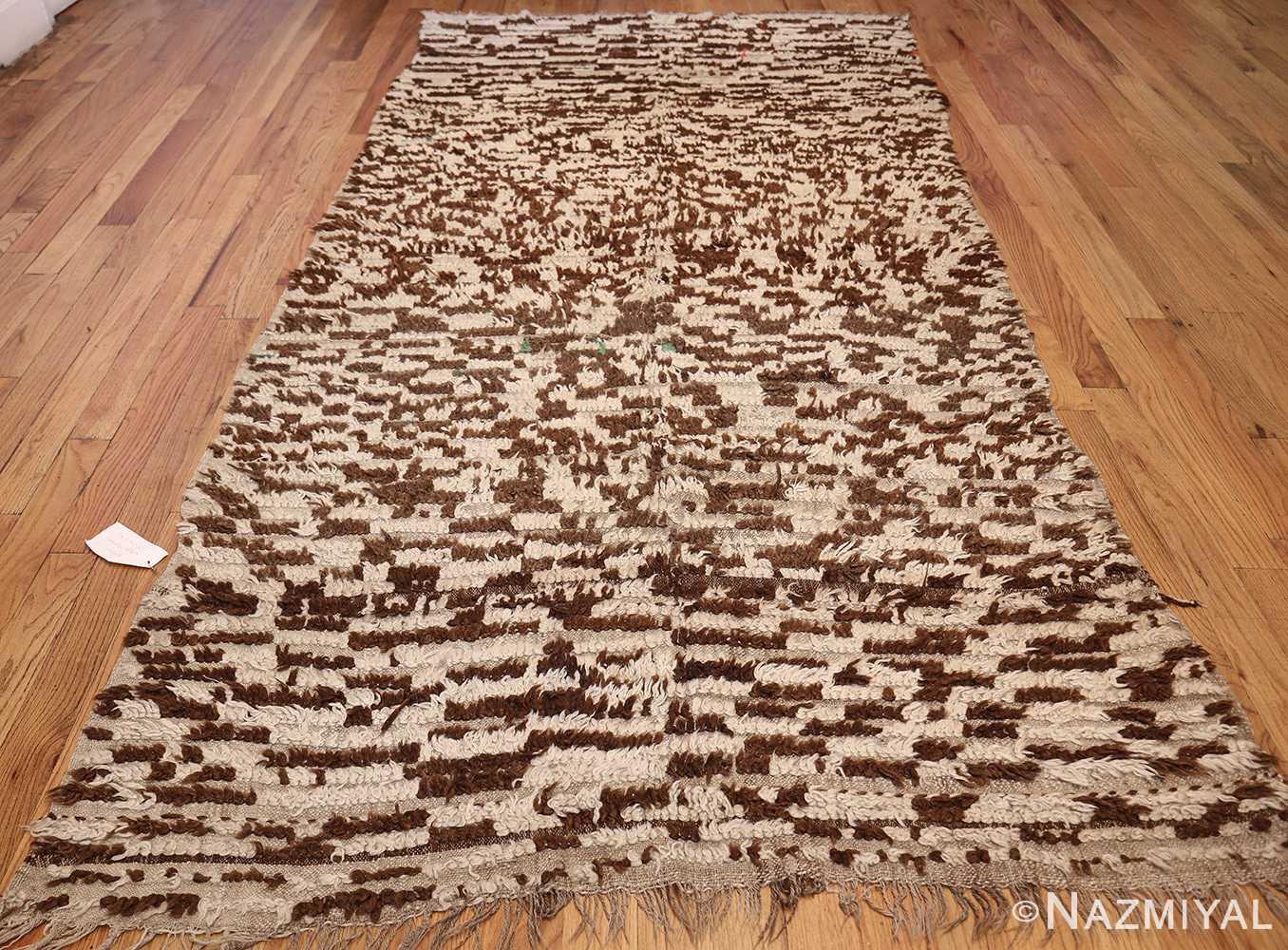 mid century moroccan rug 45010 whole Nazmiyal