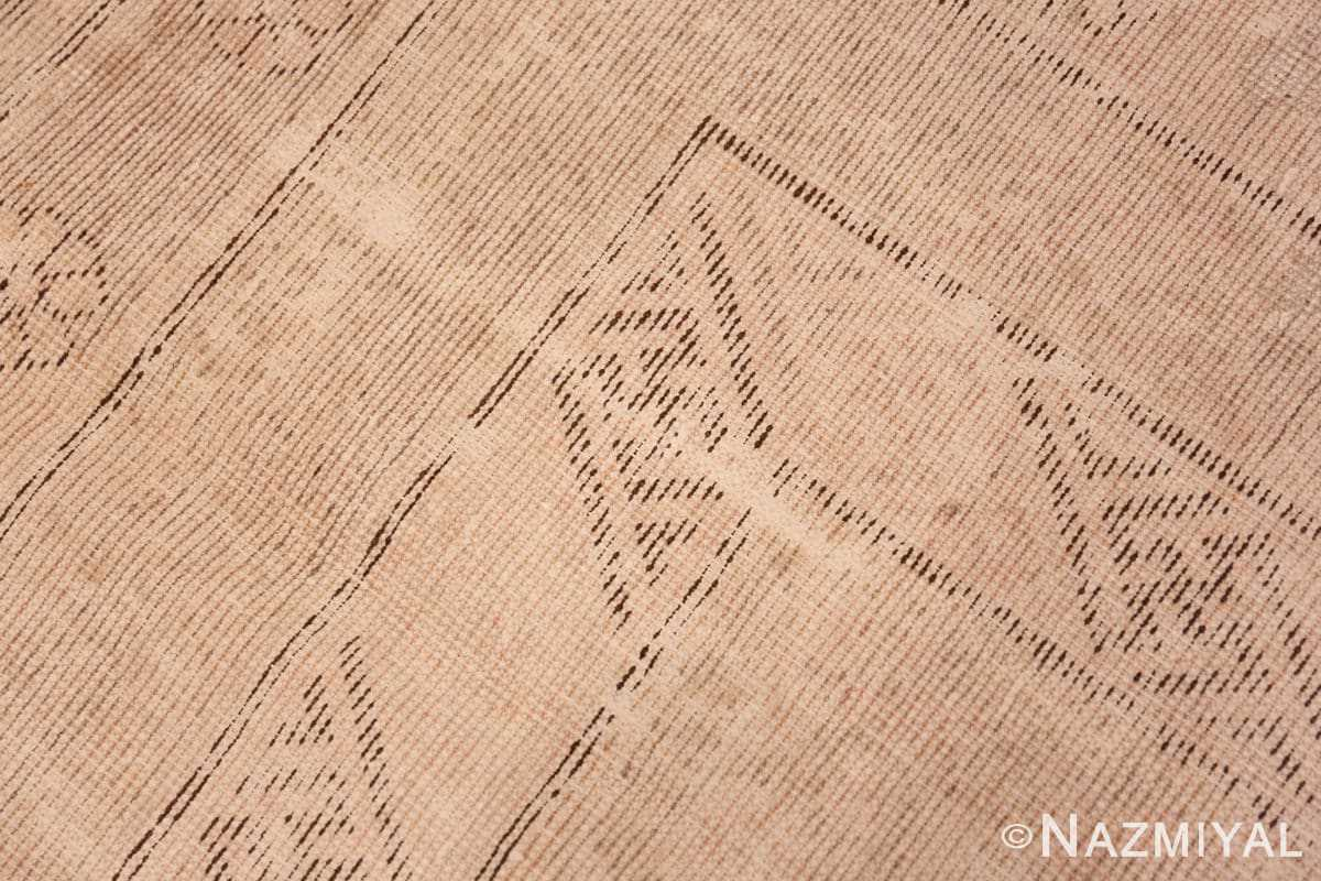 Weave detail Decorative Antique Khotan rug 44995 by Nazmiyal