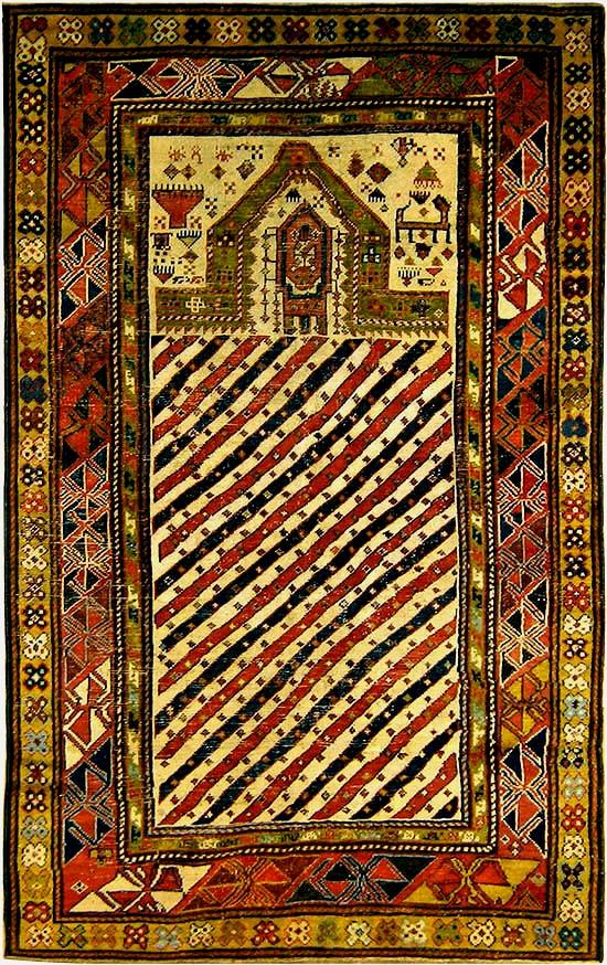 Réparation tapis antique après