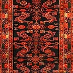 Antique Hamedan Persian Rug 43844