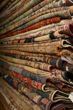 Antique Rugs At The Nazmiyal gallery