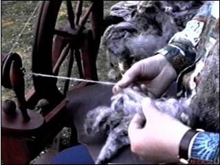 Spinning Wool by Nazmiyal