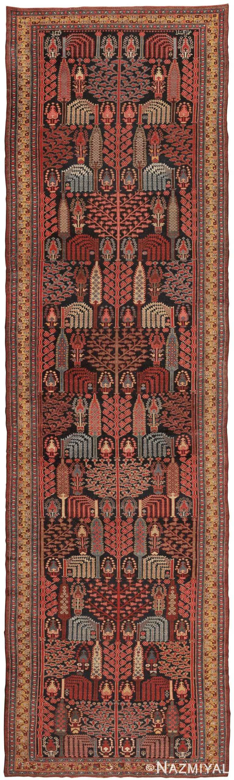 Antique Bakhtiari Persian Rug 44990 Nazmiyal